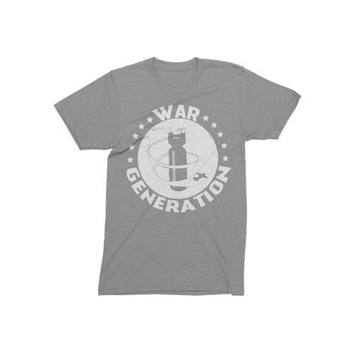 Bomb Heather Grey T-Shirt