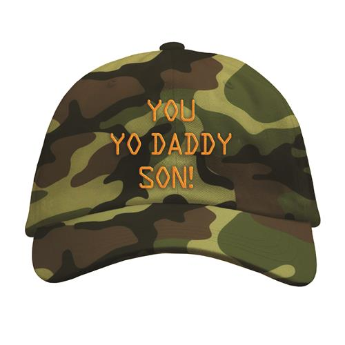 You Yo Daddy Son  Camo Dad Hat