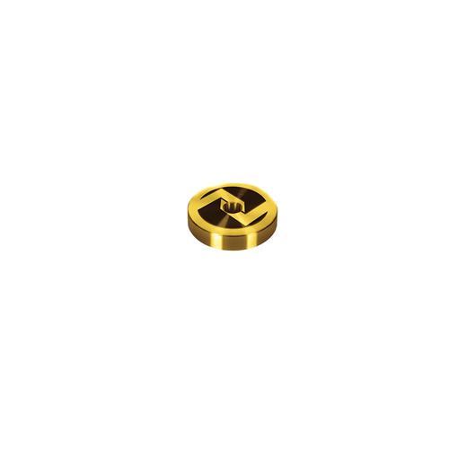Logo Gold Vinyl Adapter