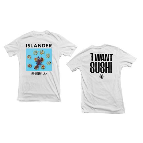 I Want Sushi White