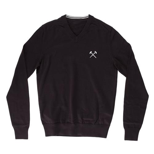 Hammers V-Neck Black Knit