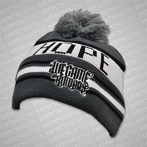 Hope Black / Grey Winter Hat