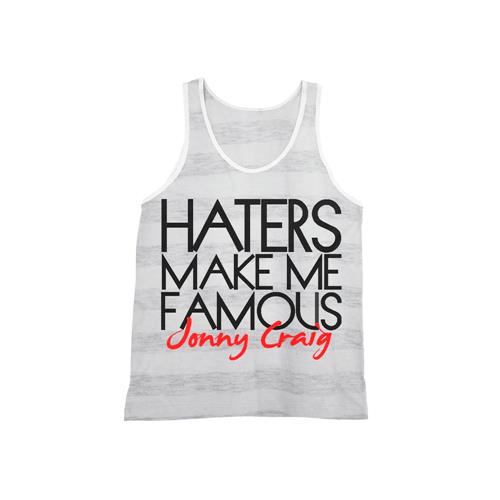 Haters Striped Tank Top