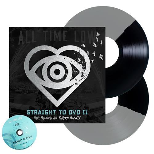Straight To DVD II: PPFH  Half Black/Half Silver Vinyl 2Xlp