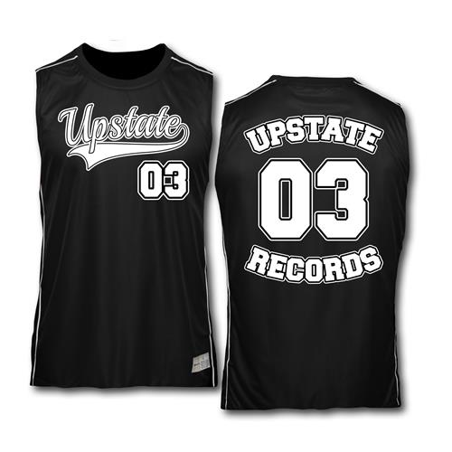 Volume 3 Black And White Basketball Jersey