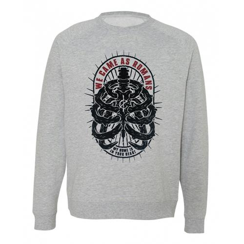 Ribcage Heather Grey Crewneck