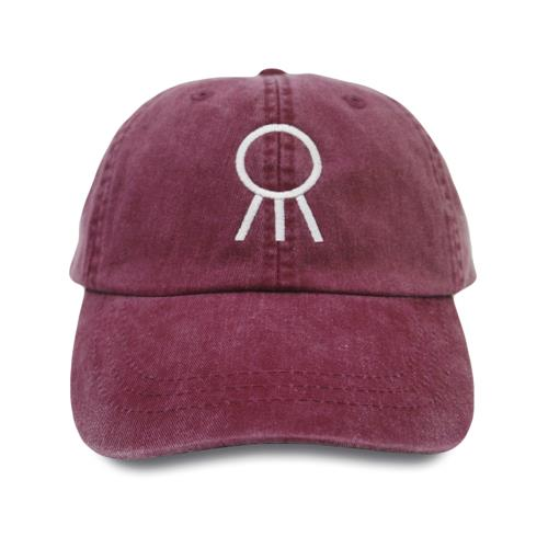 Logo Burgundy Dad Hat