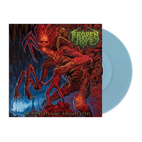 Mutilated And Assimilated Light Blue Vinyl 2Xlp