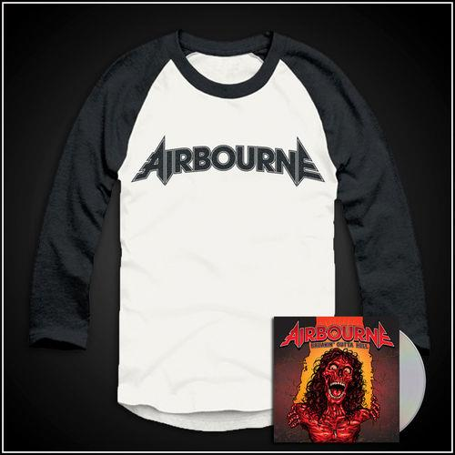 Breakin' Outta Hell CD & Baseball Shirt