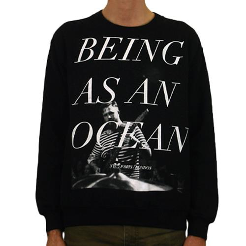 Live Black Crewneck *Clearance*