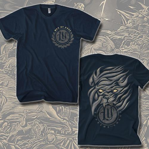 Flame Navy T-Shirt *Final Print*