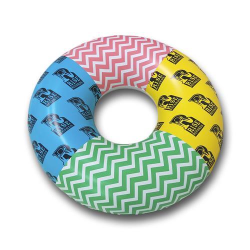 Multi Color Donut Pool Float