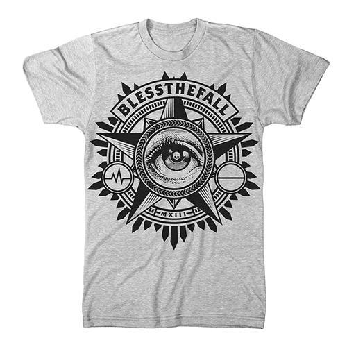 Blessthefall Eye Heather Grey