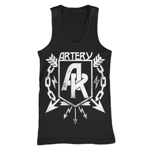 A.R. Black Tank Top