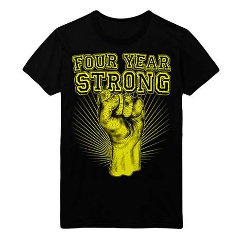 Gold Fist Black