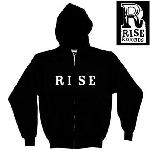 Rise Records Logo Black