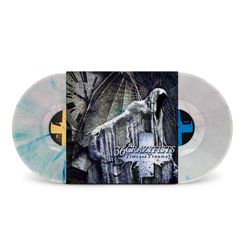 Time And Trauma Clear W/ Blue And White 2X LP
