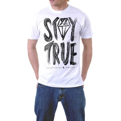 Stay True All Over White