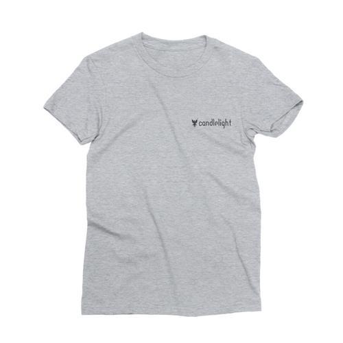 Logo Grey Pocket Print