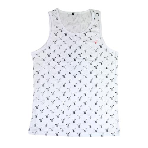 All-Over-Print Wolf White