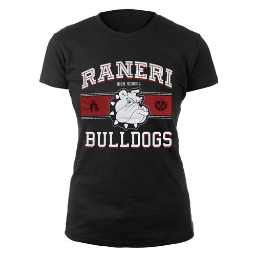 Bulldogs Black Girl's T-Shirt