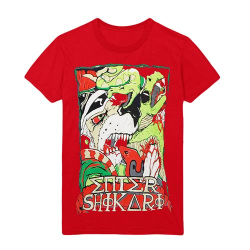 *Limited Stock* Lions Vs Snakes Red