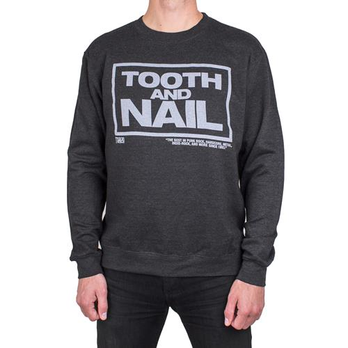 T&N 20 Dark Heather Crewneck Small