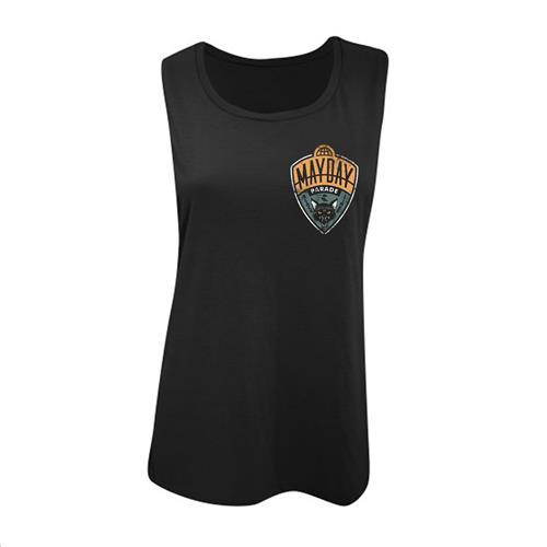 Cat Ladies Black Muscle Shirt