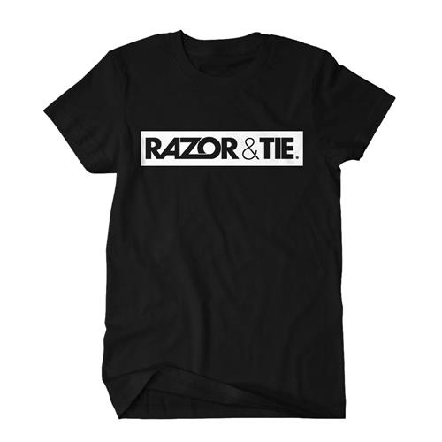 Razor And Tie - Logo White On Black