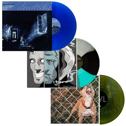 A Different Shade of Blue LP Collection