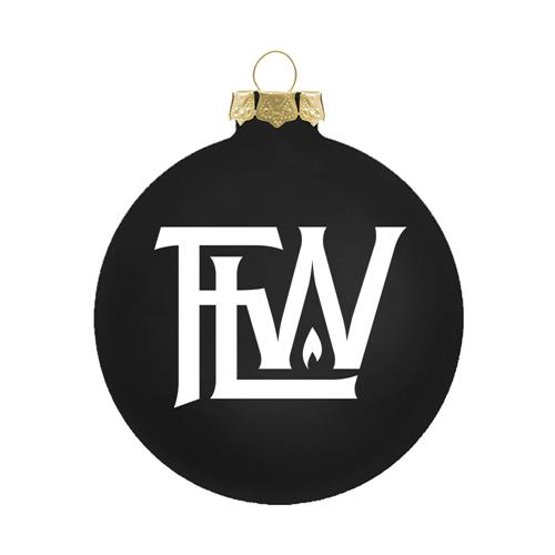 Logo Black Ornament