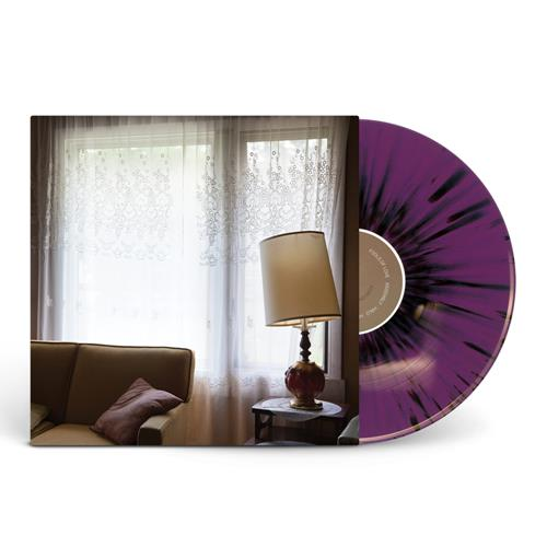 Fragile, As Said Before Purple W/ Heavy Black Splatter