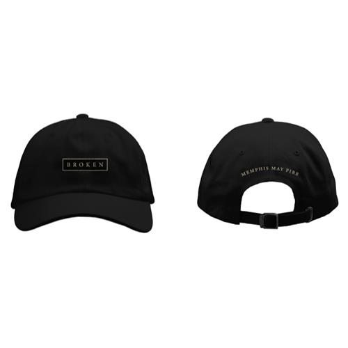 Broken Black Dad Hat