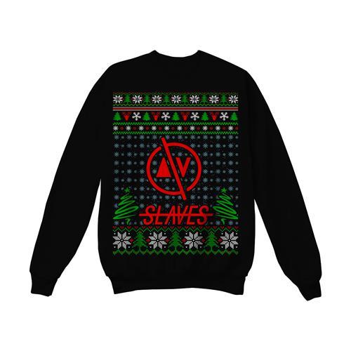 Holiday Black Sweater
