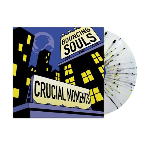 The Crucial Moments Clear W/ Yellow/ Black Splatter