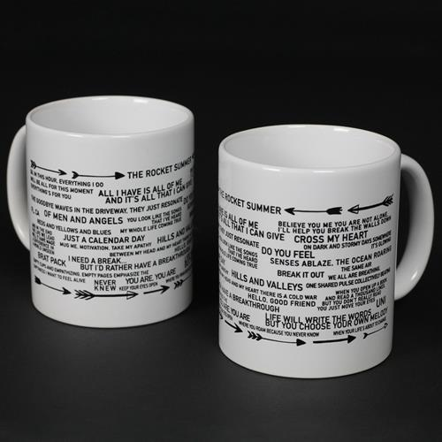 Lyric White Coffee Mug