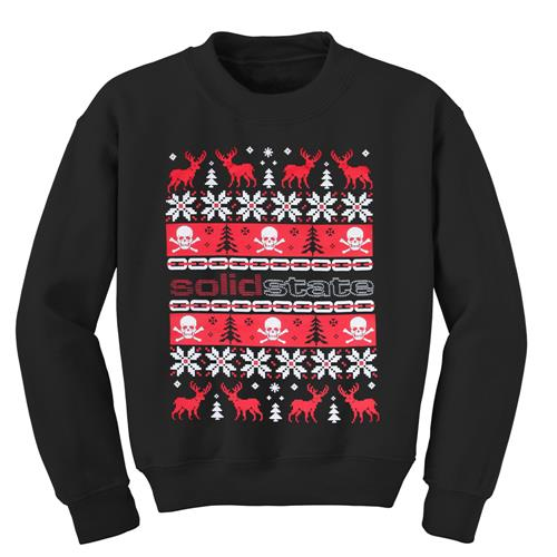 Christmas Black Crewneck X-Large