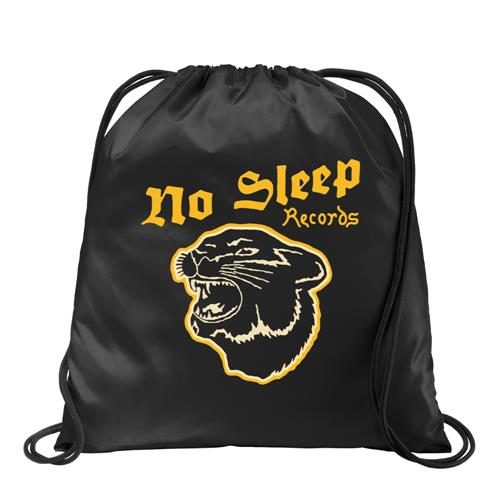 Panther Black Cinch Bag