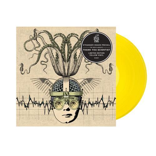 Stranger Heads Prevail Yellow Vinyl 2Xlp