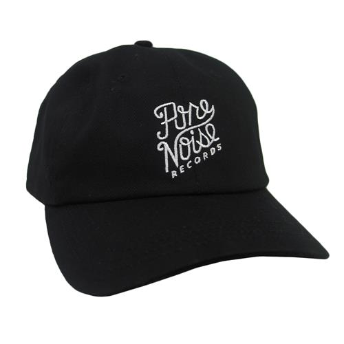 Cursive Logo Black Dad Hat                       PN MERCH