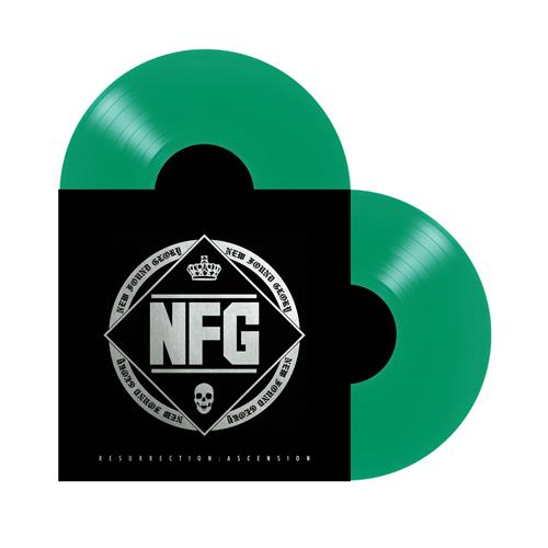 Resurrection: Ascension Transparent Green Vinyl 2XLP