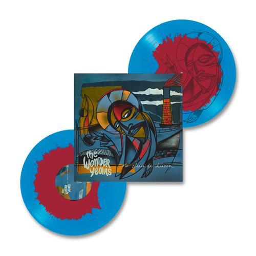 No Closer To Heaven Blue/Maroon Vinyl 2Xlp