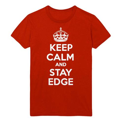 Keep Calm & Stay Edge Red