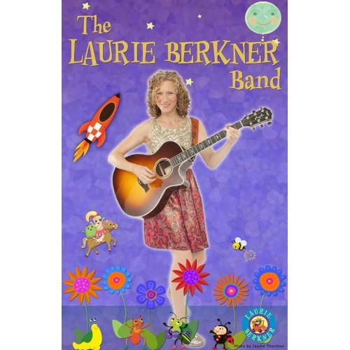 Signed Laurie Berkner Poster