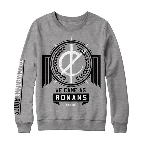 Tracing Back Roots Heather Grey Crewneck