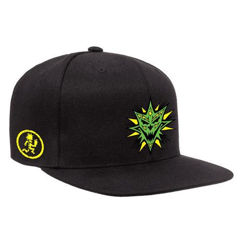 Bang! Pow! Boom! Black/Green Snapback