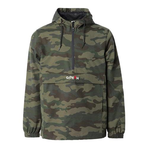Offset Embroidered Camo