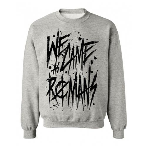 Handwritten Heather Grey Crewneck