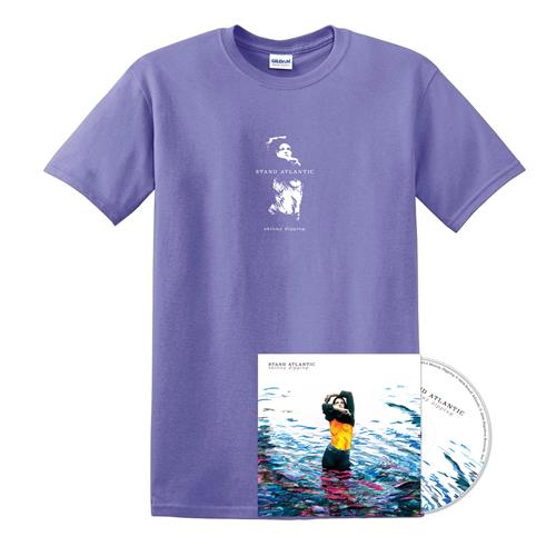 Skinny Dipping - CD + SD Girl Violet Tee