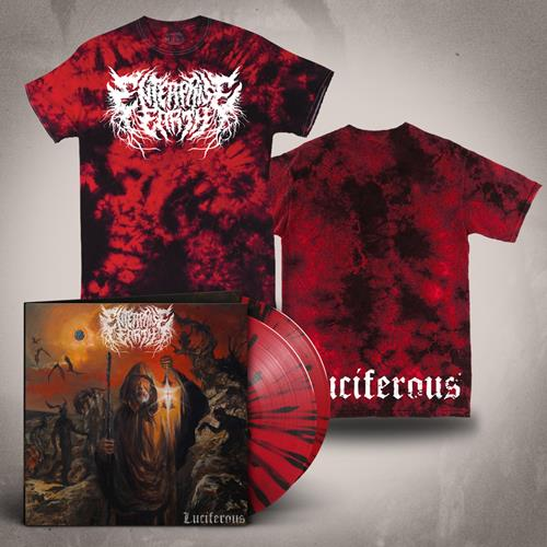 Luciferous LP + Luciferous Tie Dye T-Shirt